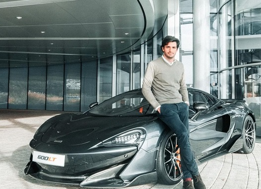 Carlos Sainz net worth