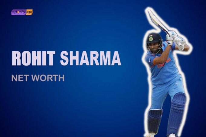 Rohit Sharma Net Worth