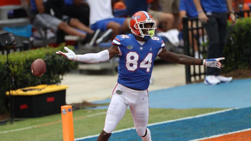 NFL Draft prospect TE Kyle Pitts