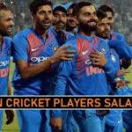 Indian Cricket Players Salary 2021