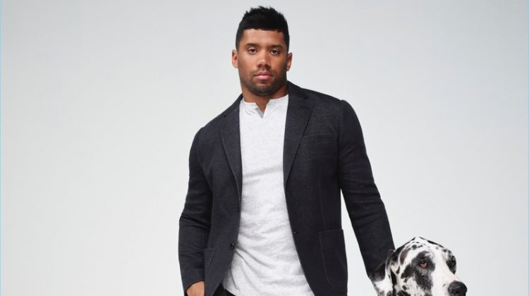 Russell Wilson Good Man Brand advertisment campaign.