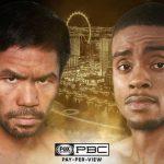Manny Pacquiao vs Errol Spence Jr live streaming